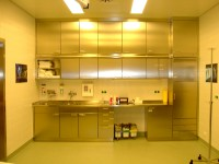 overview stainless steel cupboards
